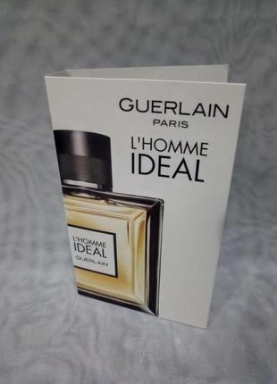 Guerlain l'homme ideal туалетная вода пробник