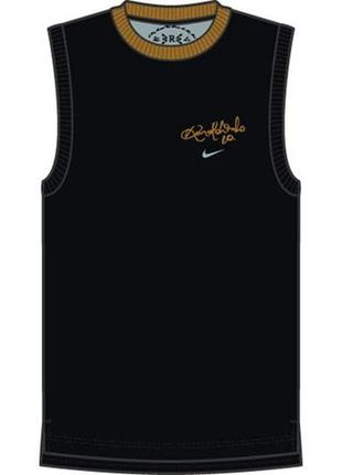 Nike 10 ronaldinho fit dry спортивная майкa