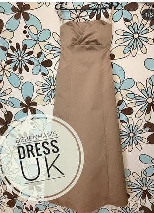 Платье вечернее выпускное свадебное Англия новое 10