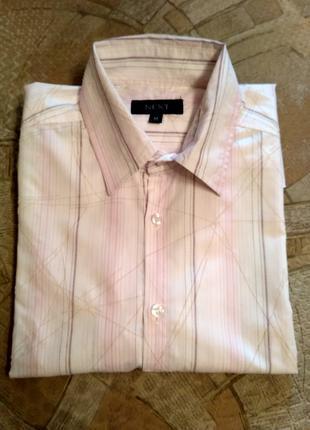 Рубашка мужская, размер М (50 - 52)