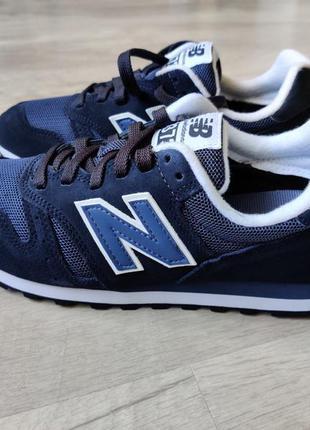 New balance 373 оригинал синего цвета