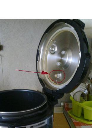 Уплотнительное кольцо клапана крышки скороварок Redmond мелкий...