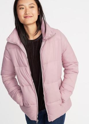 Куртка дутая теплая женская old navy сша куртки женские