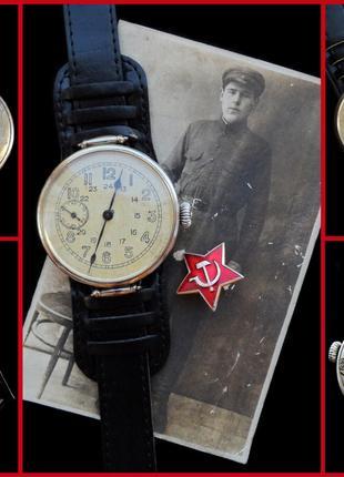 часы ВЕЛИКОЙ ОТЕЧЕСТВЕННОЙ ВОЙНЫ, аутентичные, СССР 1938г. механ.