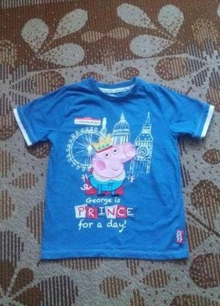Футболка GEORGE PIG на 4-5 лет