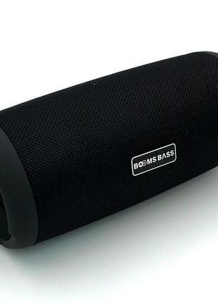 Колонка Bluetooth BOOMS BASS L12 Black