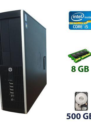 HP Compaq Elite 8300 SFF / Intel Core i5-3470