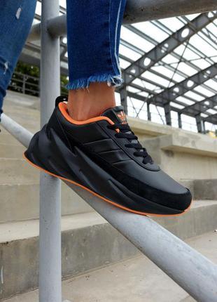 Adidas  shark женские кроссовки адидас черные