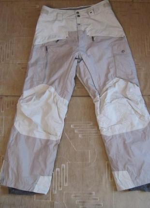 Штаны мужские лыжные или для сноуборда salomon, оригинал (м).
