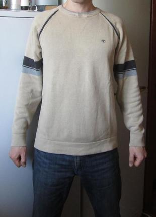 Джемпер мужской реглан tom tailor кофта - оригинал.