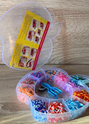 Творческий набор для плетения из резинок для изготовления браслет