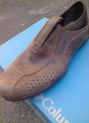 Туфли слипоны мокасины кожаные rieker antistress , оригинал.