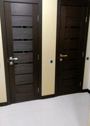 Установка межкомнатных дверей, реставрация изделий из дерева