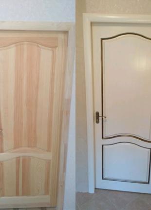 Реставрация изделий из, установка межкомнатных дверей