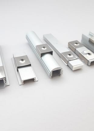 Клипса крепления led профиля для светодиодной ленты 15х6(16х7)мм
