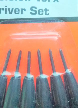 Набор мини отверток миниатюрные отвертки мініатюрні міні викрутки