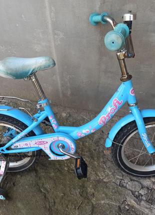 Велосипед детский двухколёсный в хорошем ,рабочем б/у состоянии
