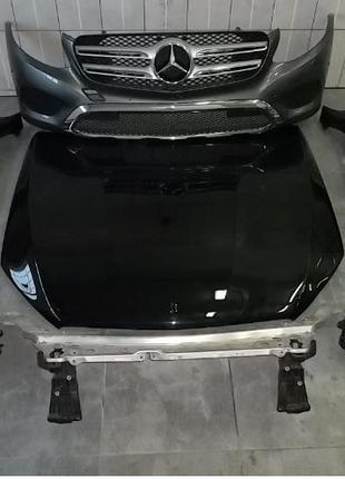 Капот, бампер, крыло Mercedes-Benz GLC, б/у запчасти из Европы