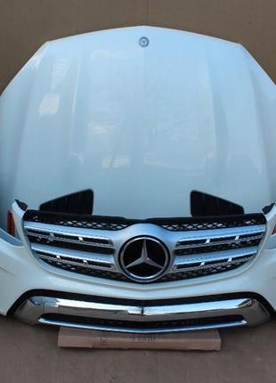 Запчасти бу: капот, бампер, дверь, фара Mercedes M class (Мерс...