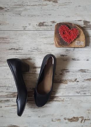 Туфли низкий маленький каблук