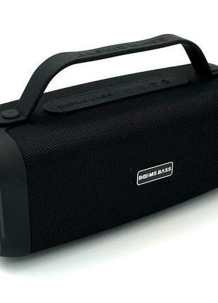 Колонка Bluetooth BOOMS BASS L17 Black