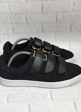 Жіночі кросівки puma basket strap exotic skin женские кроссовк...