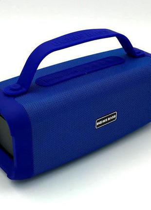 Колонка Bluetooth BOOMS BASS L17 Blue