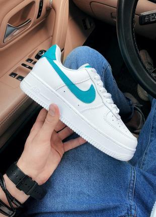 Кроссовки Nike Air Force 1 White Blue
