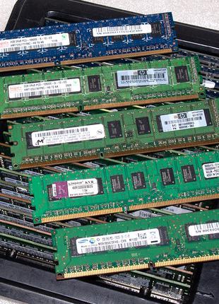2Gb DDR3 1333MHz PC3-10600E 2Rx8 - память ECC для серверов и ПК