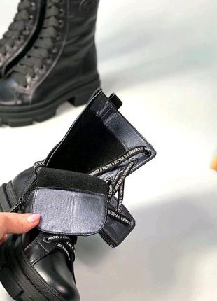 Ботинки женские кожа деми