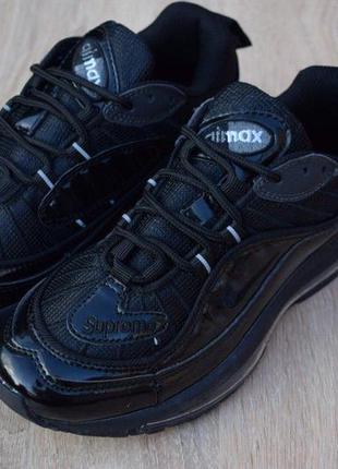 Nike air max 98 черные