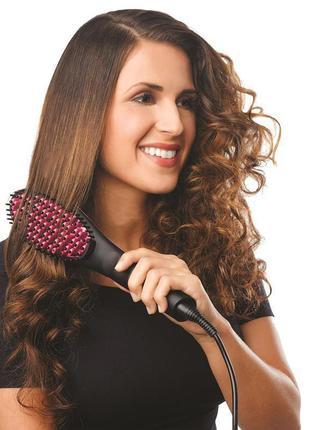 Расческа выпрямитель, утюжок для волос simple straight artifact