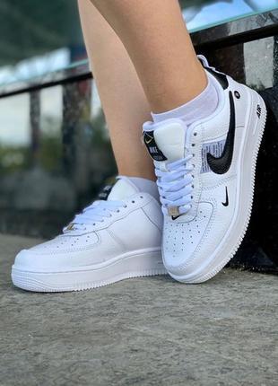 Nike air force white black