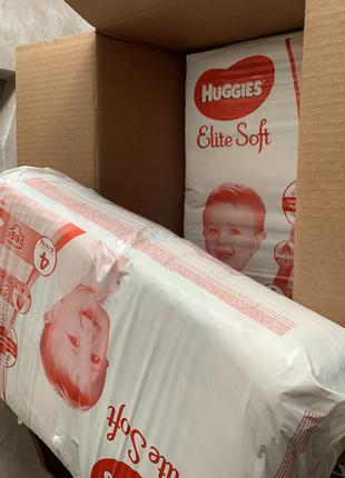 Підгузки huggies elite soft 8-14 кг 132 шт