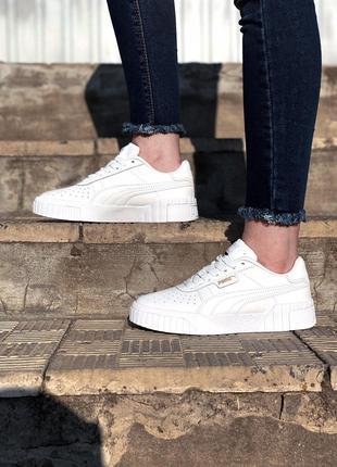 Кроссовки Puma Cali White