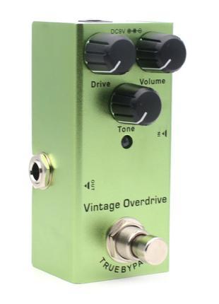 Педаль эффектов SAMARA Vintage Overdrive (Tube Screamer 808)