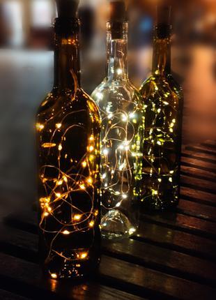 Светильник - Светящая бутылка