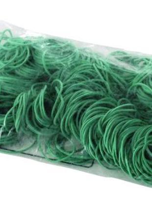 """Резинка для финсации денег ( зеленая ) 1 кг """"Plast"""" (1 пач)"""