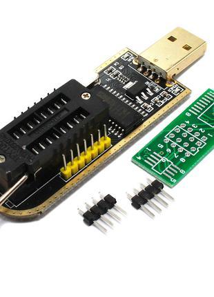 USB программатор CH341A 24 25 FLASH 24 EEPROM мини программатор