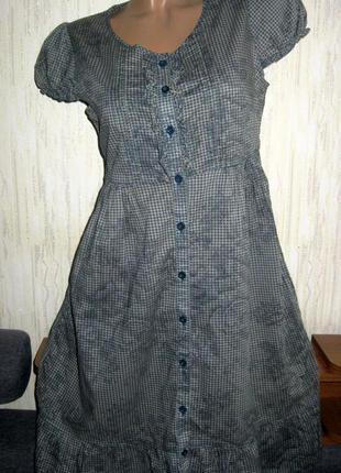 Платье в стиле кэжуал 100% хлопок
