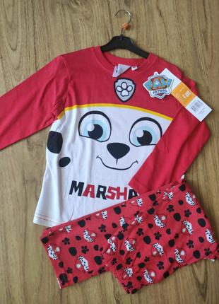 Пижама детская Щенячий патруль Маршал
