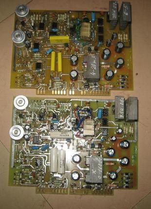 Электронные платы усилителей к приборам ДИСК-250