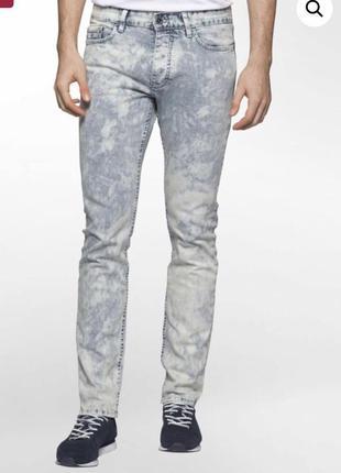 Скидка! джинсы мужские calvin klein jeans slim кельвин кляйн о...