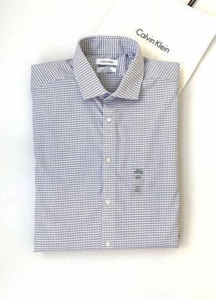 Рубашка мужская calvin klein  slim fit кельвин кляйн оригинал