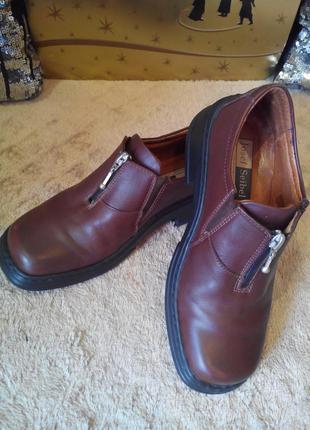 Стильные туфли josef seibel 37 размер.