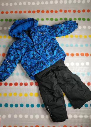 Зимний комбинезон костюм 86-92 lupilu