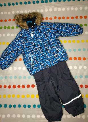 Зимний комбинезон костюм lenne 92