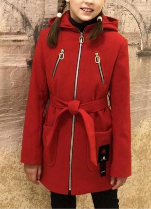 Качественное кашемировые пальто детское,подростковое 128-152