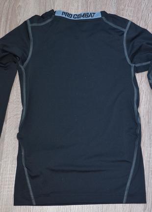 Спортивная футболка с длинным рукавом в школу Nike