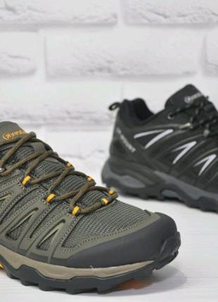Мембранные мужские кроссовки Restime,41,42,43,44,45,черные и хаки